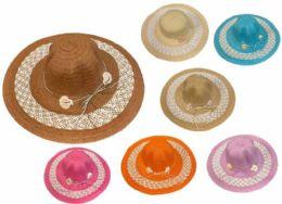 24 Units of Lady Sun Hat - Sun Hats