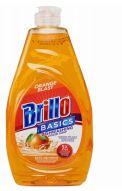 72 Units of Brillo Dish Liquid 24oz Orange - Soap Dishes & Soap Dispensers