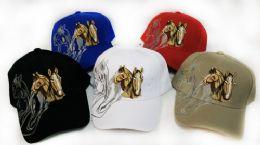 24 Units of Baseball Hats Horses - Baseball Caps & Snap Backs