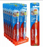 72 Units of Colgate Usa Toothbrush Extra Clean Firm - Toothbrushes and Toothpaste
