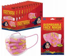 1200 Units of Disposable Children Mask 10 Pack Wonder Woman - Face Mask