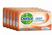 27 Units of Dettol Soap 105g 5 Pack Deep Cleanse - Soap & Body Wash