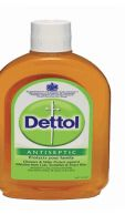 96 Units of Dettol Liquid Cleaner 125ml - Cleaning Products