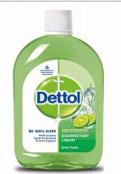 24 Units of Dettol Liquid Cleaner 550ml Lime Fresh - Cleaning Products