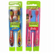 72 Units of Firefly Toothbrush Babie And Spider 2 Pack - Toothbrushes and Toothpaste