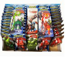 96 Units of Firefly Toothbrush Marvel With Keychain - Toothbrushes and Toothpaste