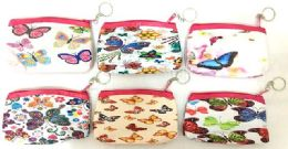 48 Units of Butterfly Coin Purse - Coin Holders & Banks
