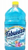 36 Units of Fabuloso 1000ml 33.8oz Fresco Ocean Blue - Cleaning Products