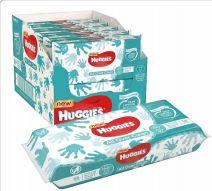 50 Units of Huggies Wipes 56 Count All Over Clean - Baby Beauty & Care Items