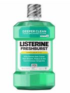 24 Units of Listerine Mouthwash 500ml Fresh Burst - Toothbrushes and Toothpaste