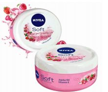 24 Units of Nivea Cream Soft 200ml Berry Blossom - Skin Care