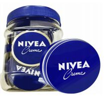80 Units of Nivea Cream Tin 20ml Display Jar - Skin Care