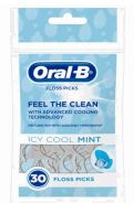 48 Units of Oral B Floss Pick 30 Count Icy Cool Mint - Toothbrushes and Toothpaste