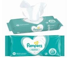 48 Units of Pampers Wipes 52 Count Sensitive - Baby Beauty & Care Items