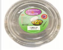 36 Units of Microwave Container Round 32oz 6 Count - Aluminum Pans