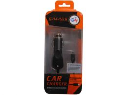 60 Units of galaxy wireless black micro usb car charger - Chargers & Adapters