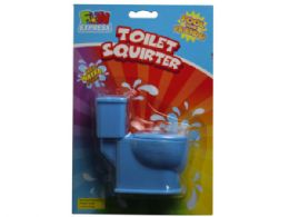 72 Units of toilet shaped water squirter in assorted colors - Toys & Games
