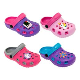 60 Units of Girls Clogs Assorted Colors And Styles - Girls Slippers
