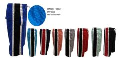 48 Units of Men's Bathing Suits With Stripe Design Pack A S-XL - Mens Bathing Suits