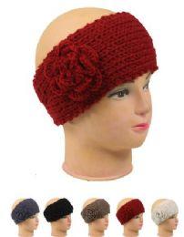 72 Units of Knitted Women Woolen Headband - Ear Warmers