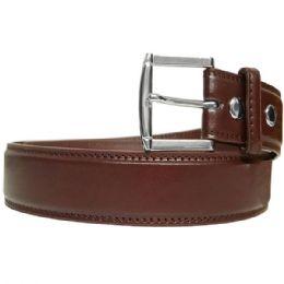 36 Units of Mens Classic Brown Belt - Mens Belts