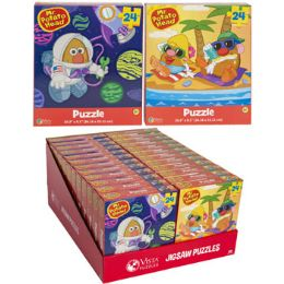 24 Units of Puzzle 24pc Mr. Potato Head 2 Titles In Pdq Size 10.3x9.1 - Puzzles