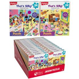 24 Units of Puzzle 24pc Highlights Thats Silly 2 Titles In Pdq - Puzzles
