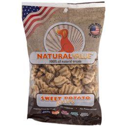 24 Units of Dog Treats Sweet Potato Krisps 2.5 Oz Made In Usa - Pet Supplies
