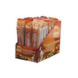24 Units of Dog Treat Ultra Chewy Tropical Bone Mango 2.8 Oz In Counter - Pet Supplies
