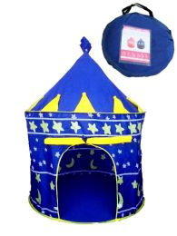 12 Units of Kids Blue Tent - Camping Gear