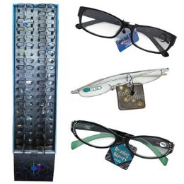 240 Units of Reading Glasses 9 Asst Powers In 240 Ct Floor Display - Reading Glasses
