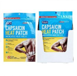 24 Units of Pain Relief Patch 2ct Bonus Pack Hot Capsaicin Coralite - Pain and Allergy Relief