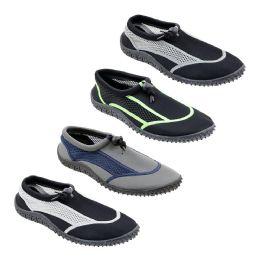48 Units of Men's Water Shoes - Men's Aqua Socks
