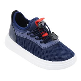 12 Units of Boy's Sneakers Casual Sports Shoes in Navy - Boys Sneakers