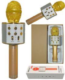 6 Units of Phone Karaoke Microphone In Gold - Musical