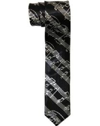 48 Units of Mens Slim Musical Tie - Neckties