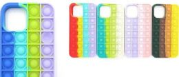 24 Units of Rainbow Assorted Iphone 12 Pro Max Case Stop Pops - Cell Phone & Tablet Cases