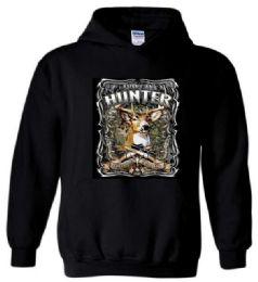 12 Units of Black color Hoody American Hunter - Mens Sweat Shirt