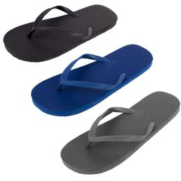50 Units of Men's Flip Flops - Assorted Colors - Men's Flip Flops and Sandals
