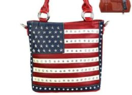 2 Units of Montana West American Pride Concealed Handgun Collection Tote - Tote Bags & Slings