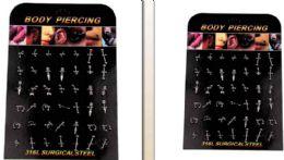 168 Units of Body Piercing/ Body Jewelry - Body Jewelry