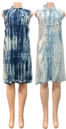 12 Units of Indian Rayon Shirt Dress with Collar Assorted Colors - Womens Sundresses & Fashion