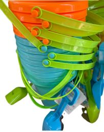 48 Units of Nine Inch Pail and Shovel Set - Beach Toys