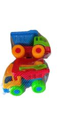 72 Units of Small Sand Toys Truck Set - Beach Toys