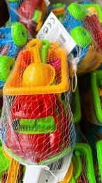 72 Units of Medium Size Sand Toys Truck Set - Beach Toys