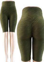 24 Units of Capri Tik Tok Big Butts Leggings - Womens Leggings