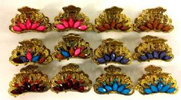 96 Units of Casting Jaw Hair Clip - Hair Accessories