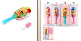 96 Units of Little Bear Style Kids Hair Brush - Hair Brushes & Combs