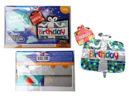 144 Units of Happy Birthday Giant Foil Balloon - Balloons & Balloon Holder