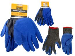 144 Units of Gloves Working Men 2asst Clr - Working Gloves